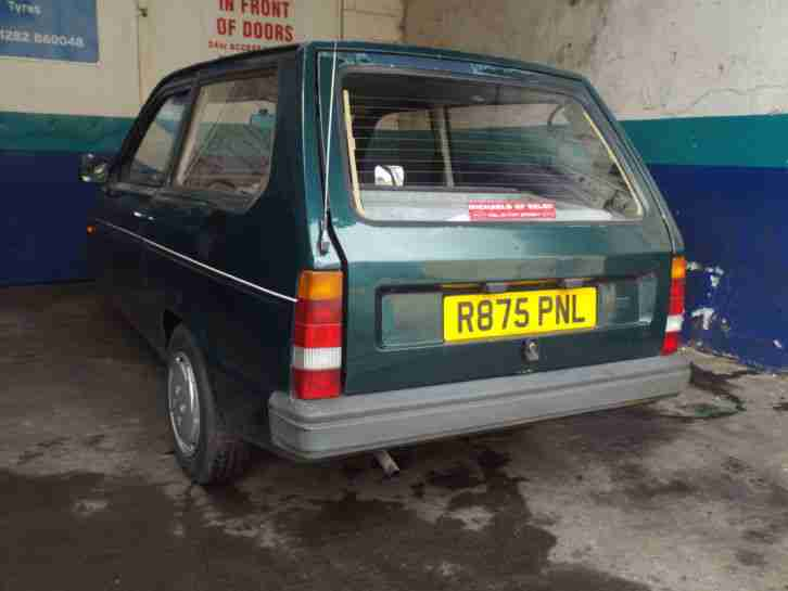 1998 RELIANT ROBIN LX GREEN