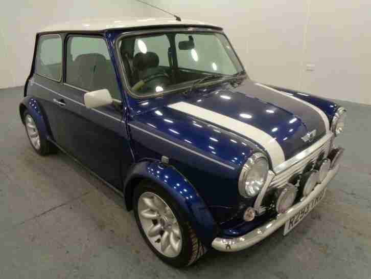 1998 Rover Mini COOPER I Petrol blue Manual