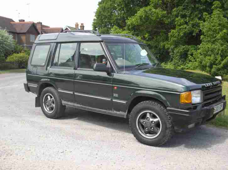 1998 s land rover discovery 300 tdi manual epsom green car for sale. Black Bedroom Furniture Sets. Home Design Ideas