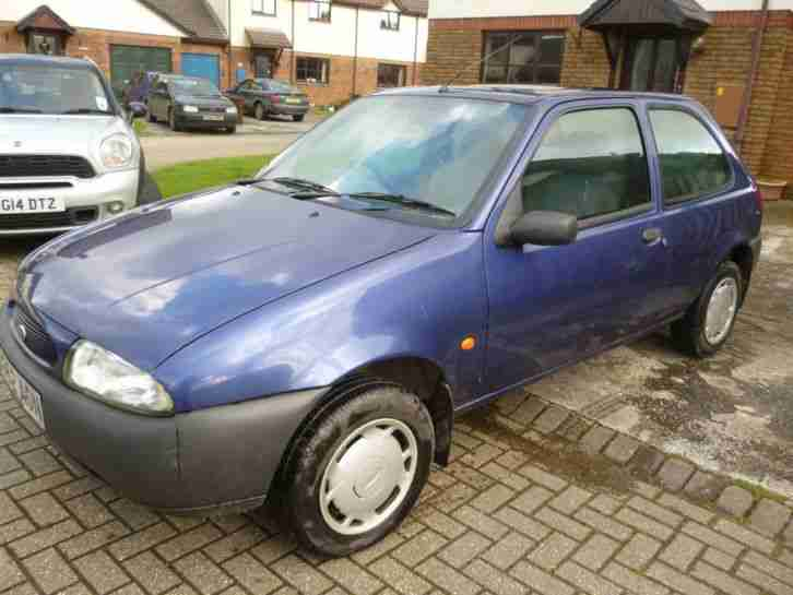 ford 1998 s reg fiesta finesse blue current mot good. Black Bedroom Furniture Sets. Home Design Ideas