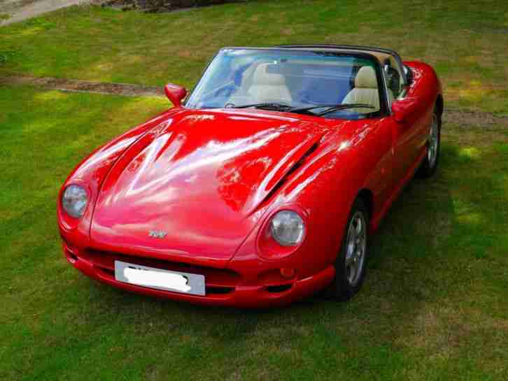 TVR 'S'. TVR car from United Kingdom