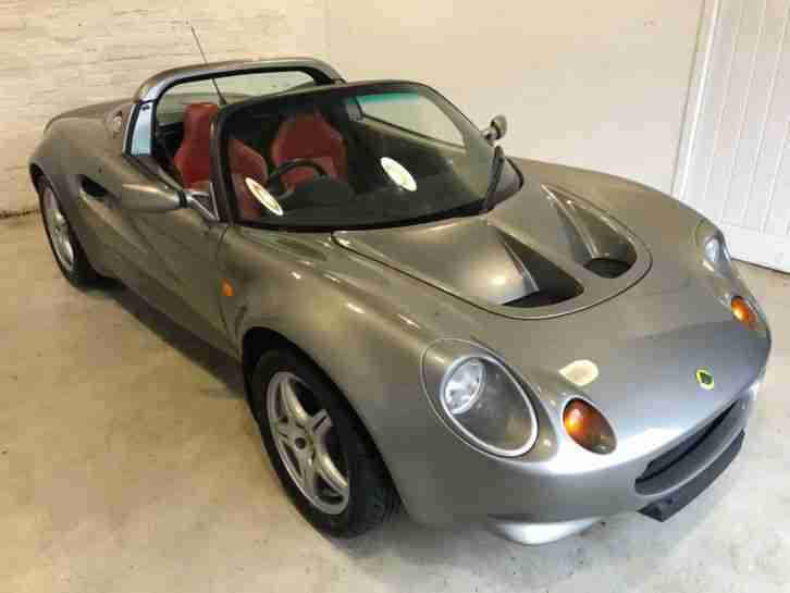 1998 S1 LOTUS ELISE : TITANIUM STORM : 16902 MILES : LIGHT WEIGHT MODEL