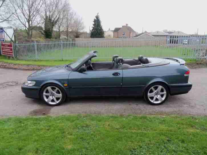 1998 SAAB 9-3 SE TURBO ECO CONVERTIBLE PETROL