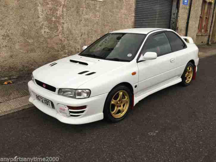subaru 1998 impreza imprezza wrx sti type r a 2 door only. Black Bedroom Furniture Sets. Home Design Ideas