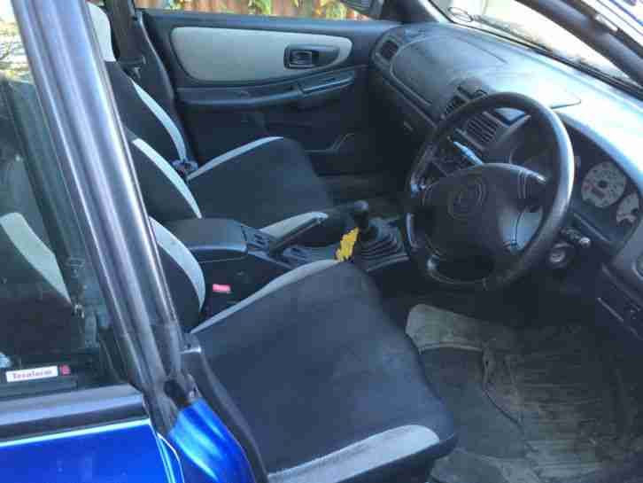 1998 SUBARU IMPREZA TURBO 2000 AWD BLUE SPARES AND REPAIRS