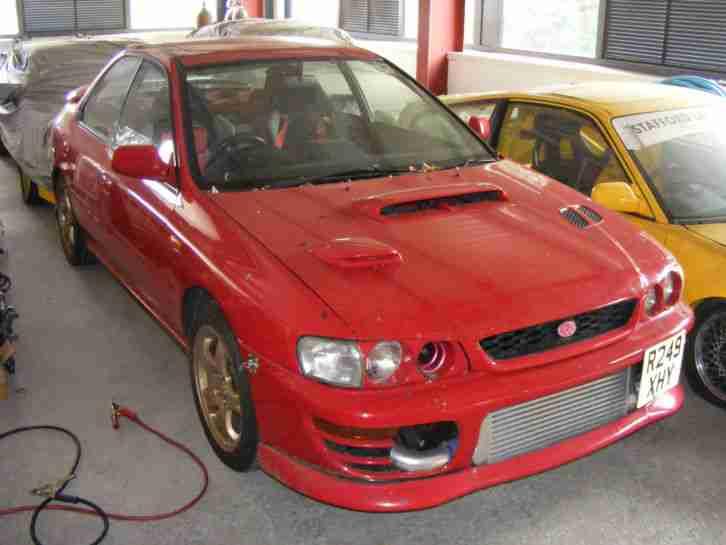 Subaru 1998 Impreza Wrx Jdm Japan Import Red Fastest