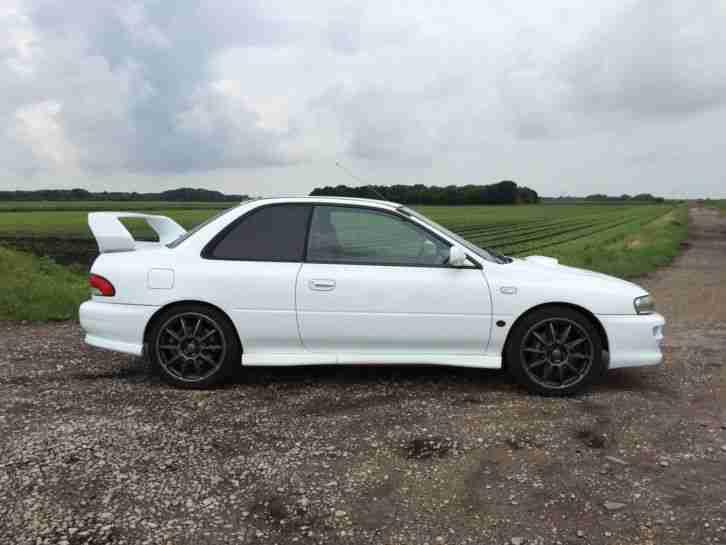 Subaru 1998 Impreza Wrx Sti Type R Version 5 White Car