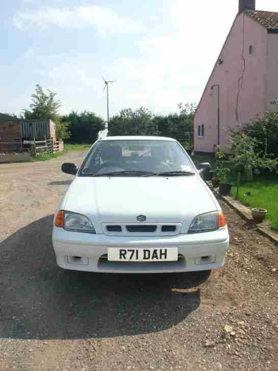 1998 SUZUKI SWIFT GLS WHITE