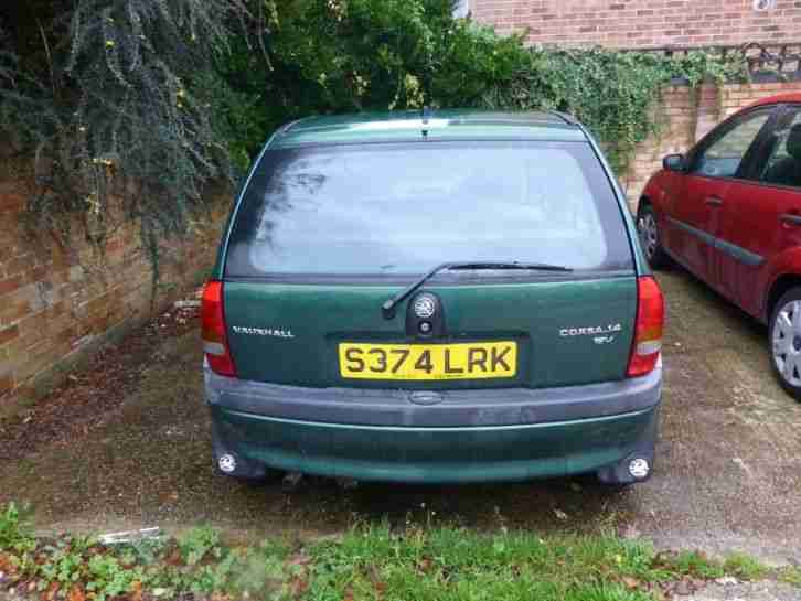 1998 VAUXHALL CORSA GLS 1.4 SPARES OR REPAIR