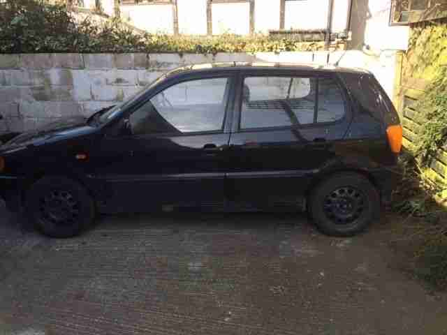1998 VOLKSWAGEN POLO 1.0 L BLACK