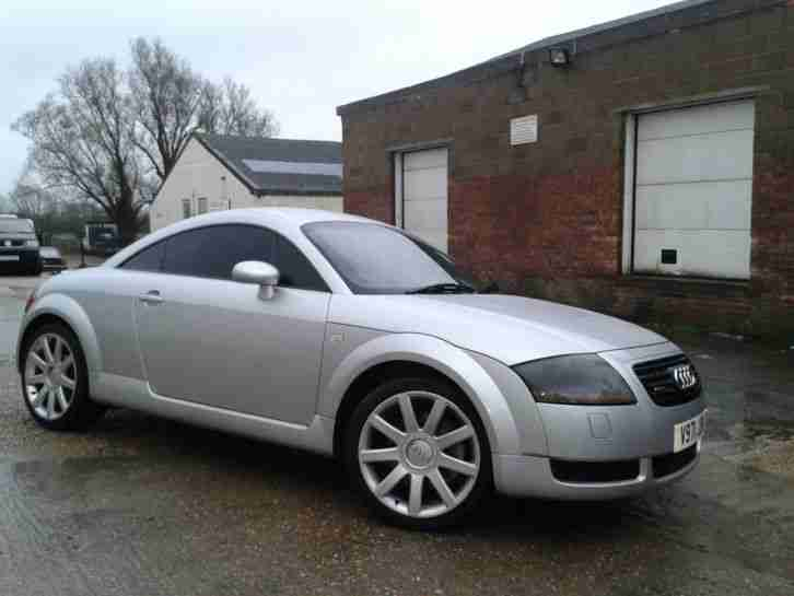 Audi 1999 Tt Quattro 225 Bhp Silver Car For Sale