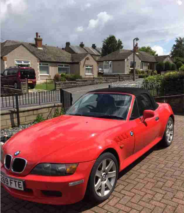 BMW 1999 Z3 RED. Car For Sale