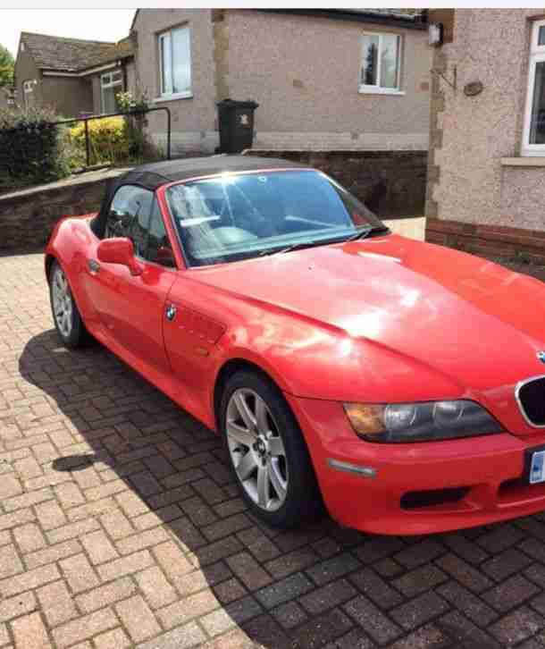 Bmw Z3 For Sale: BMW 1999 Z3 RED. Car For Sale