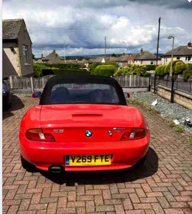 Bmw Z3 Coupe For Sale: BMW 1999 Z3 RED. Car For Sale