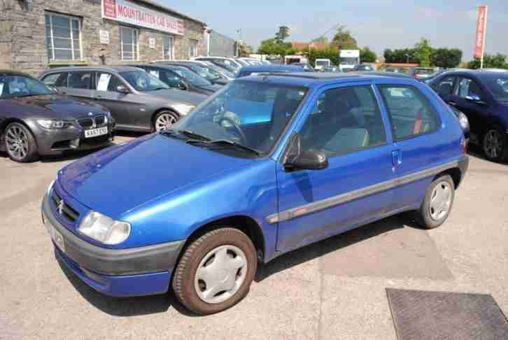 1999 SAXO 3 DOOR HATCHBACK