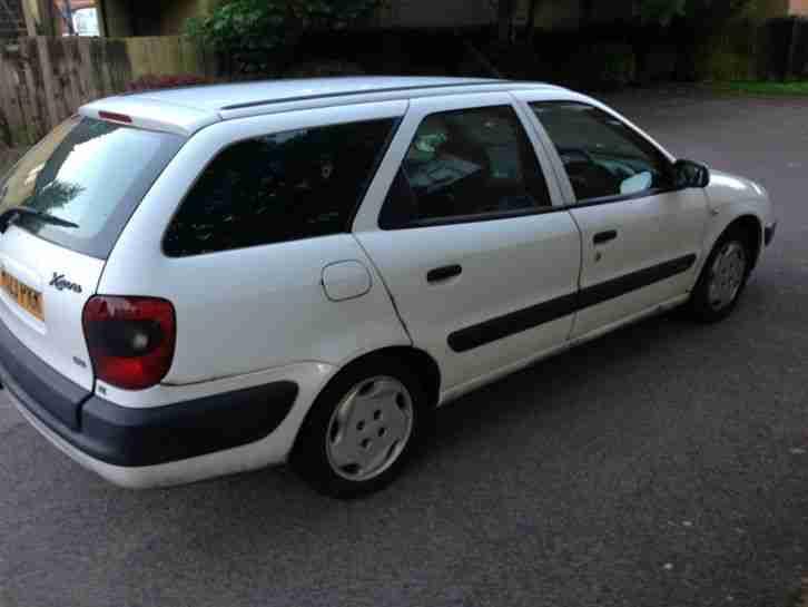 Citroen 1999 Xsara Sx Hdi White Estate Diesel Fsh Car
