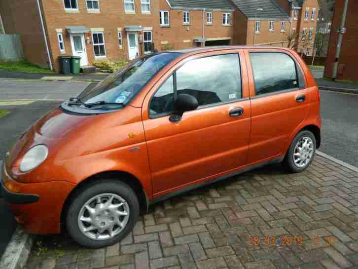 Daewoo 1999 MATIZ SE ORANGE. car for sale