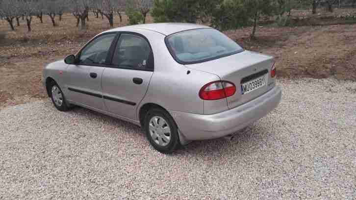 1999 Daewoo Lanos SE 1.5i, LHD Spanish plates, IN SPAIN, Left hand Drive,