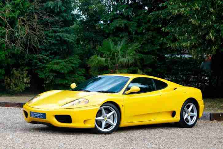 1999 FERRRAI 360 MODENA MANUAL FRESH