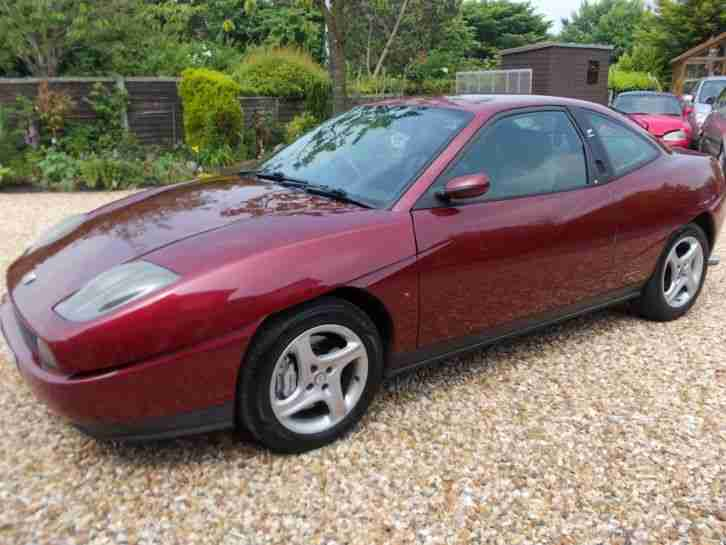 1999 COUPE 20V TURBO RED 12 MONTHS MOT
