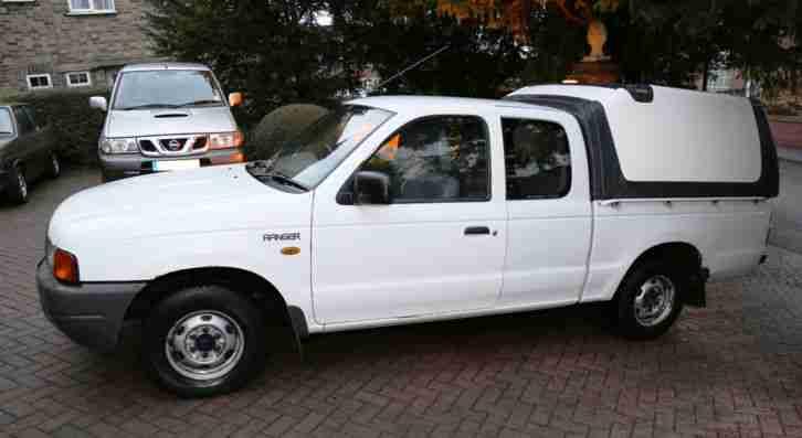 ford 1999 ranger super cab diesel white car for sale. Black Bedroom Furniture Sets. Home Design Ideas