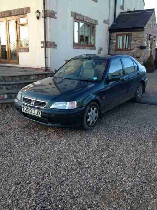 1999 Honda CIVIC 1.4l, 1owner from new! Air Con, Elec windows and mirrors,