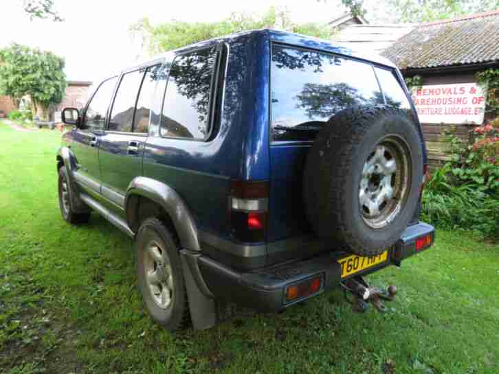1999 ISUZU TROOPER CITATION DT LWB BLUE/GREY 3.1 CONVERSION