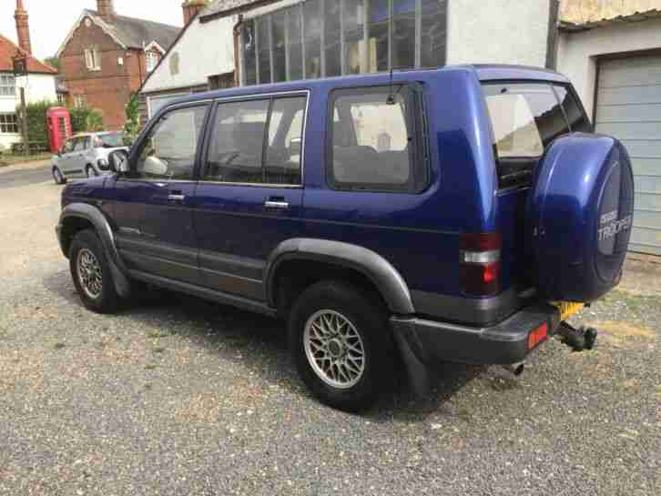 1999 ISUZU TROOPER CITATION LWB 3.0TD 4WD MANUAL