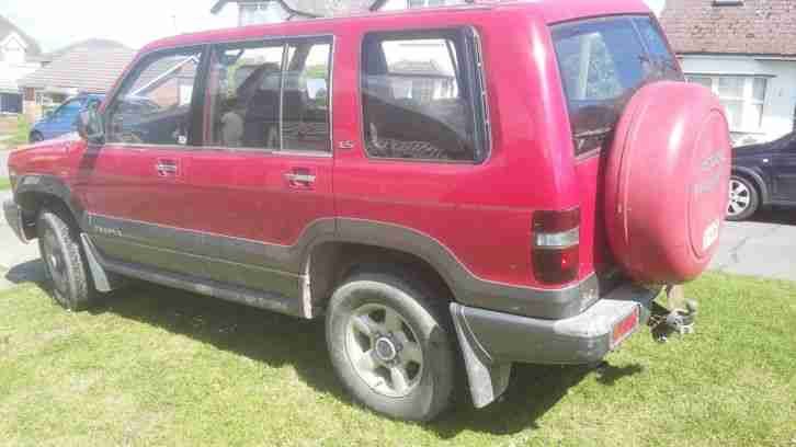 1999 TROOPER CITATION LWB RED GREY