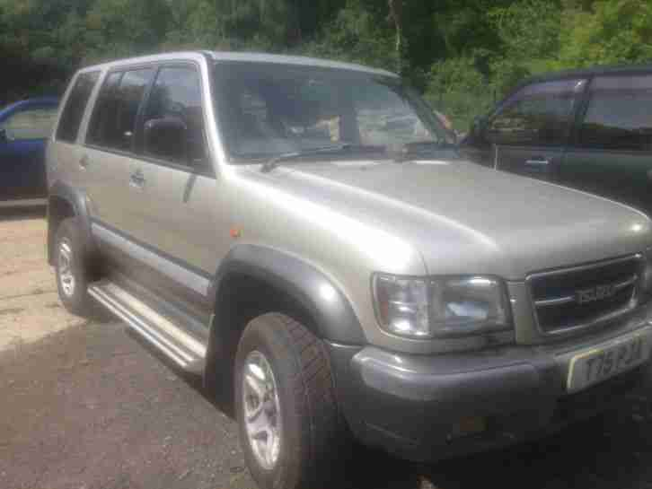 1999 ISUZU TROOPER CITATION V6 LWB A SILVER/GREY
