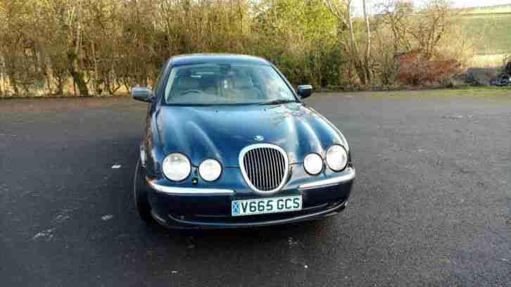 Jaguar 1999 S TYPE V6 AUTO BLUE Spares Repairs Project ...