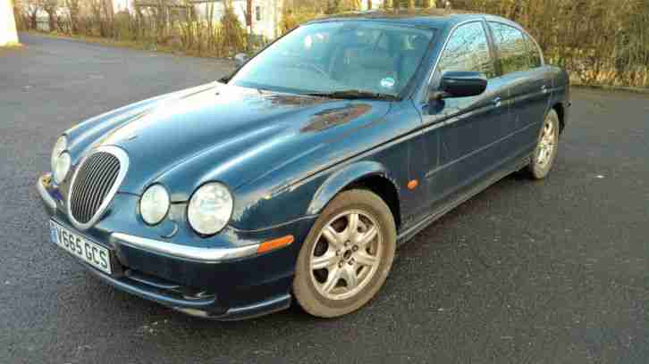1999 JAGUAR S-TYPE V6 AUTO BLUE Spares Repairs Project Starts And Drives