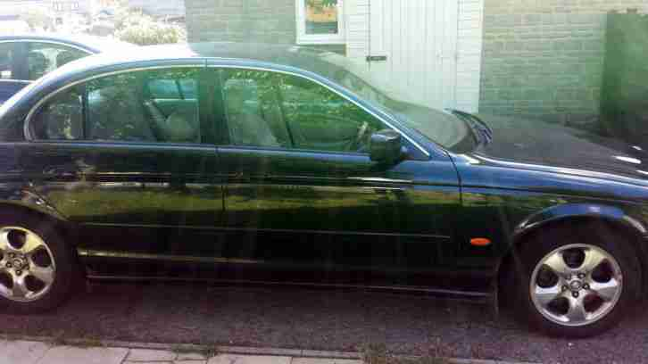 1999 JAGUAR S-TYPE V8 AUTO GREEN Spares or Repair