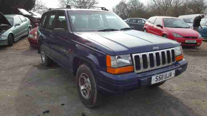 jeep 1999 grand cherokee laredo td blue 2 5 td diesel car for sale. Black Bedroom Furniture Sets. Home Design Ideas