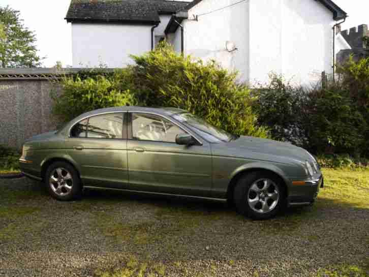 Jaguar 1999 S Type V8 Auto Green (Spares or Repair). car ...