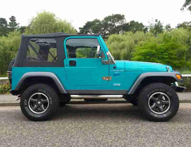 Jeep 1999 Wrangler 4 0 Sport Soft Top  Car For Sale