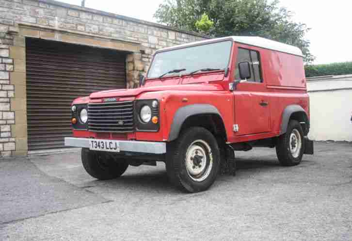 1999 Land Rover Defender 90 Td5 Red Farm Spec 300tdi 200