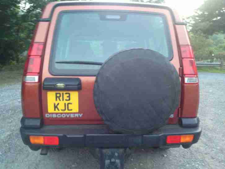 1999 LAND ROVER DISCOVERY TD5 GS AUTO BRONZE