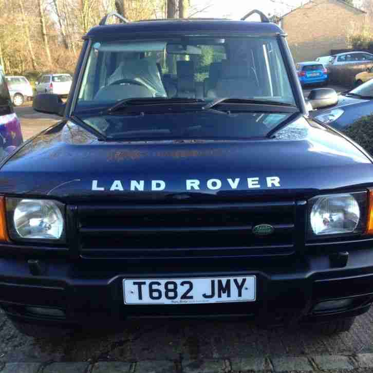 1999 LAND ROVER DISCOVERY TD5 GS AUTOMATIC BLUE 7 SEATS