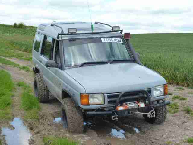 1999 LAND ROVER DISCOVERY TD5 GS- GREEN LANER- CHECK THIS ONE OUT