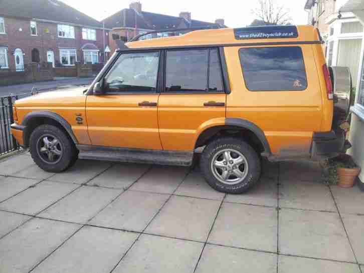 1999 LAND ROVER DISCOVERY TD5 GS ORANGE