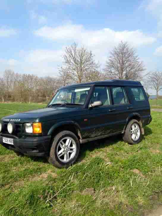 1999 LAND ROVER DISCOVERY TD5 S GREEN