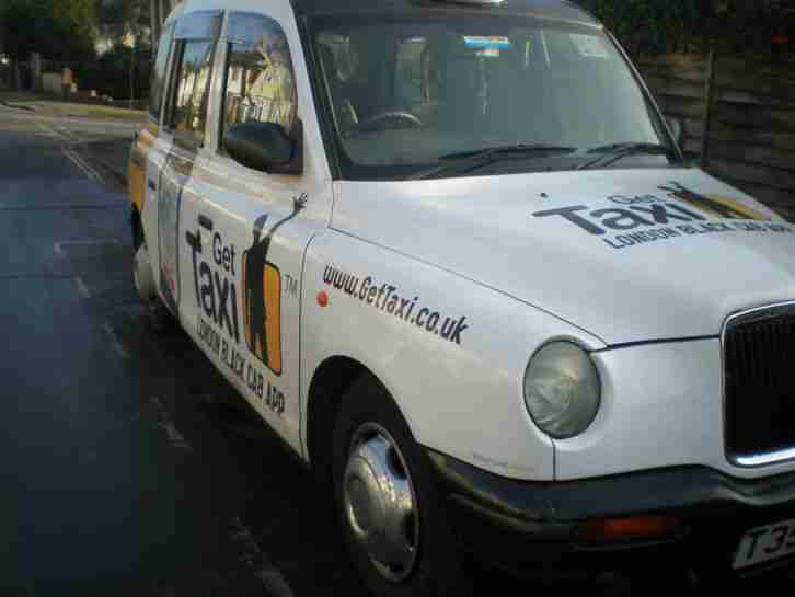 1999 LONDON TAXIS INT TX1 SILVER AUTO BLACK