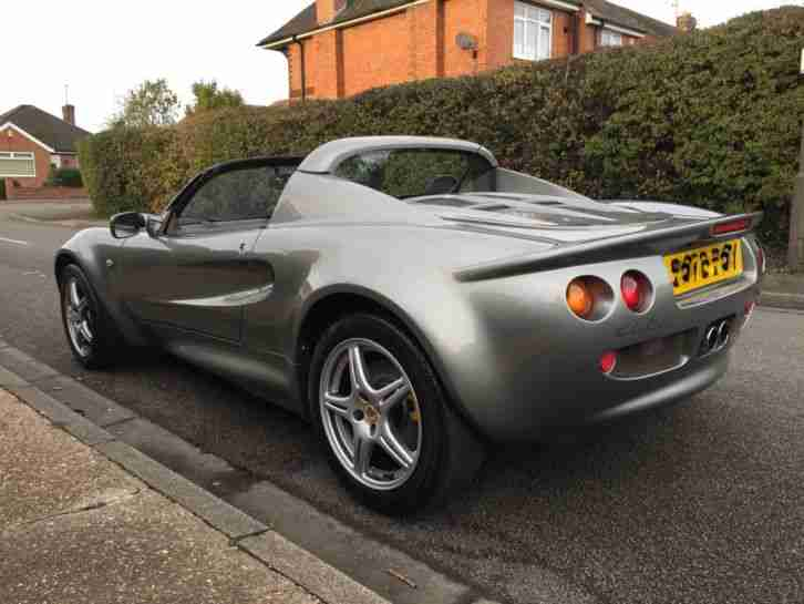 1999 LOTUS ELISE S1,F.S.H,CUSTOM,SHOW CAR,CLASSIC. (ONLY 36,000 MILES!!)