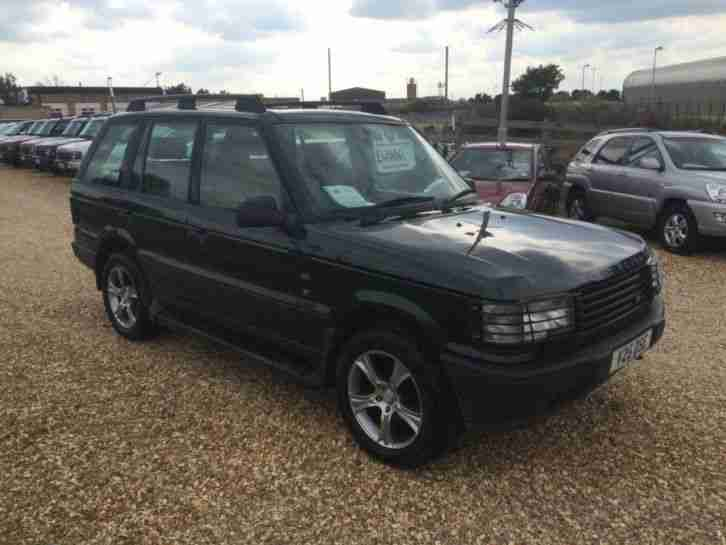 1999 Land Rover Range Rover 2.5 DT 4DR AUTO FULL SERVICE HISTORY 4 door 4 X 4