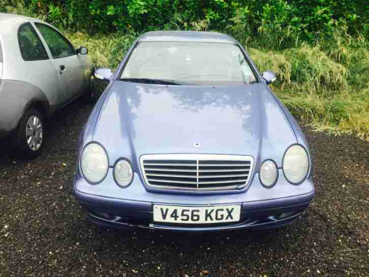 1999 MERCEDES CLK 320 ELEGANCE AUTO SPARES OR REPAIR KEYS LOST