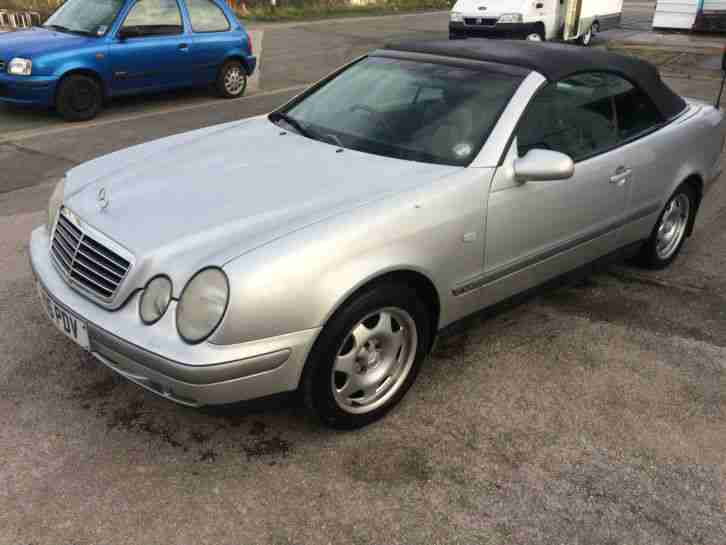 1999 mercedes clk 320 convertable cabriolet sport auto for 1999 mercedes benz clk320 for sale