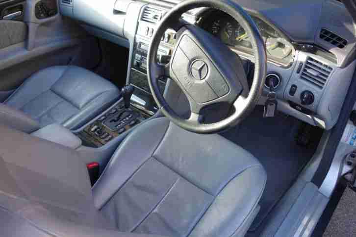 1999 Mercedes E240 Avantgarde Auto Silver Fmbsh W210
