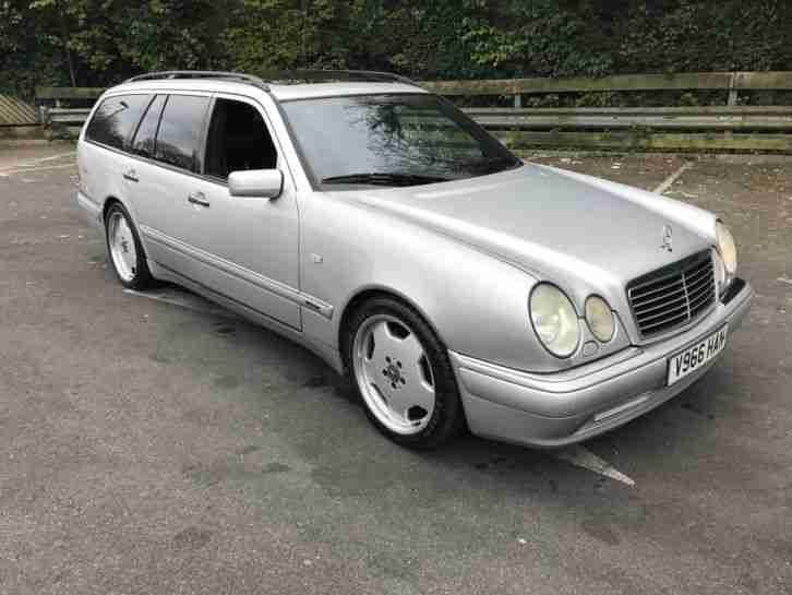 MERCEDES E55. Mercedes-Benz car from United Kingdom