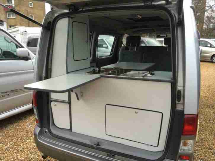 Mazda 1999 Bongo Autofreetop Camper Rear Conversion 4 Door